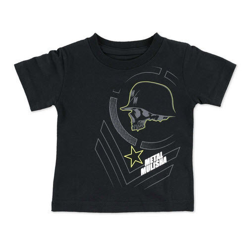 Metal Mulisha Infants Braille T-Shirt Black M35MS18327