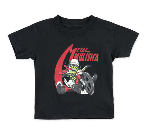 Metal Mulisha Infants Wheel T-Shirt Black