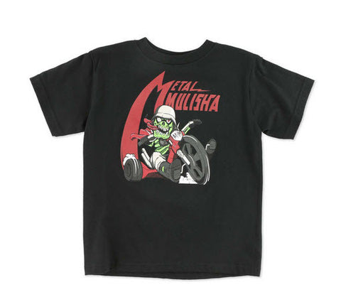 Metal Mulisha Kids Wheel T-Shirt Black