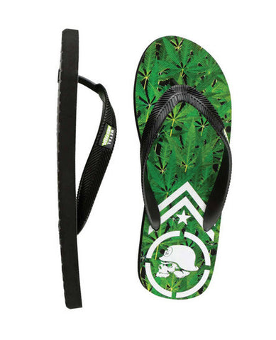 Metal Mulisha Trees Thongs Black Green M25584200