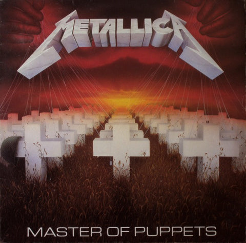 Metallica - Master Of Puppets (Red Splatter Transparent) Vinyl