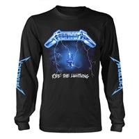 Metallica Ride The Lighting Long Sleeve Tee TShirt Famous Rock Shop Newcastle 2300 NSW Australia