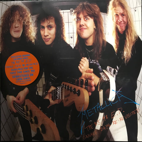 Metallica The 5.98 EP Garage Days Re Revisited Orange Vinyl LP Limited Edition Indie Exclusive APRIL13 6729295 Famous Rock Shop Newcastle 2300 NSW Australia