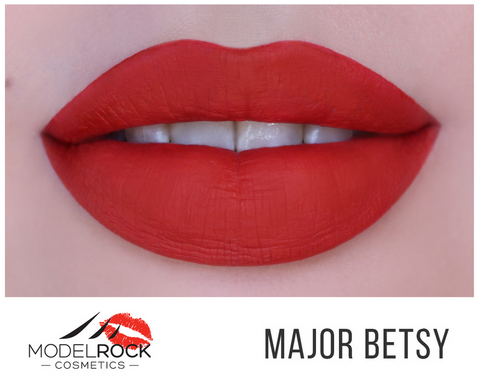 Model Rock Liquid Last Matte Lipstick - Major Betsy