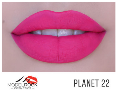 Model Rock Liquid Last Matte Lipstick - Planet 22