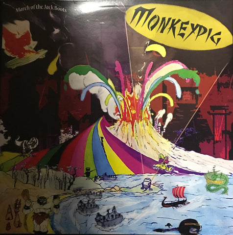 Monkeypig March Of The Jack Boots  Famous Rock Shop Newcastle 2300 NSW Australia