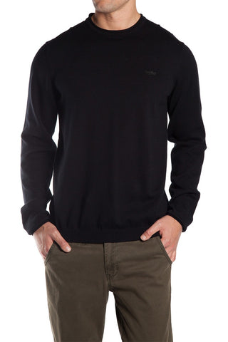 Mossimo Bedford Crew Knit Black
