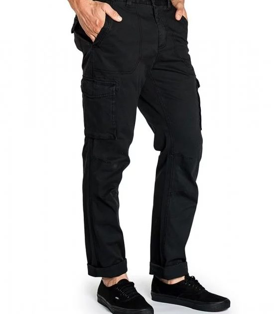 Mossimo Billy Slim Cargo Pant Black