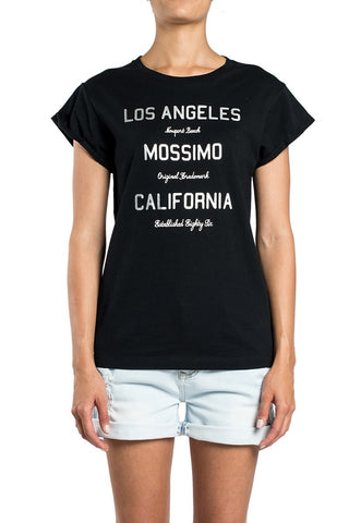 Mossimo Newport Beach Drop Back Tee Black