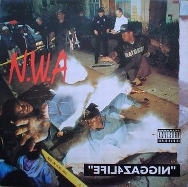 "N.W.A ""EFIL4ZAGGIN"" Vinyl. Includes a voucher to download MP3 version of the album. 180 Gram Heavyweight Vinyl Famous Rock Shop 517 Hunter Street Newcastle 2300 NSW Australia"