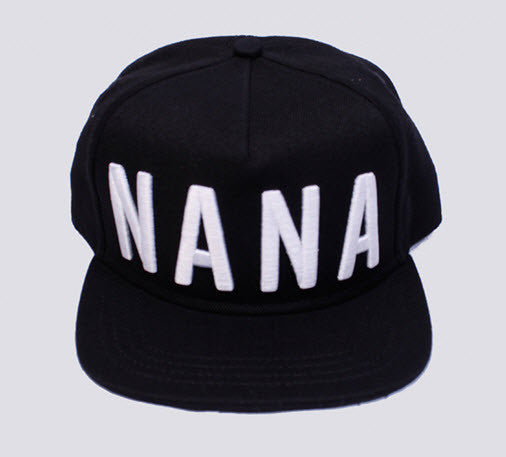 nANA jUDY Snapback Black/White NM1086B