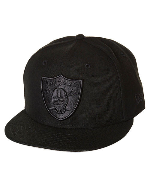 New Era Oakland Raiders 9FIFTY Snapback  Black Black Famous Rock Shop Newcastle  2300 NSW Australia