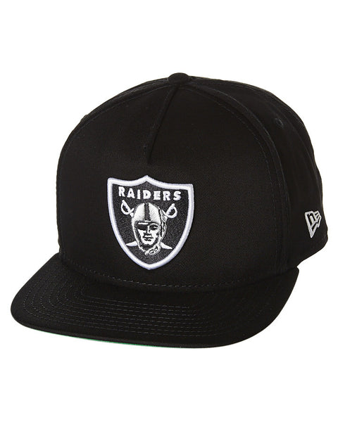 f978633a23791c ... promo code for new era 9fifty nfl oakland raiders black white a frame  snapback famous rock