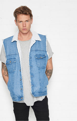 Eagle Rock Vest Indigo