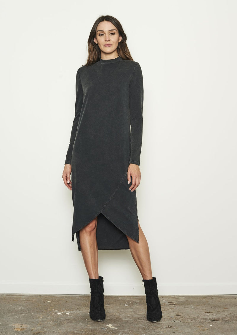 Nana Judy THE QUATTRO DRESS Vintage Black