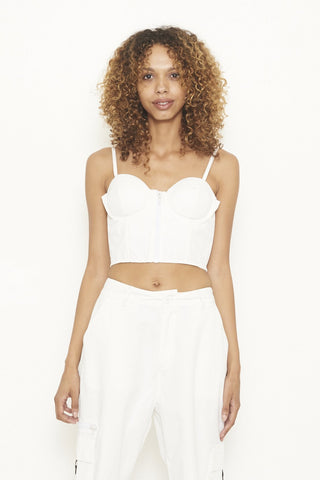 Nana Judy Arizona Bralette White Top