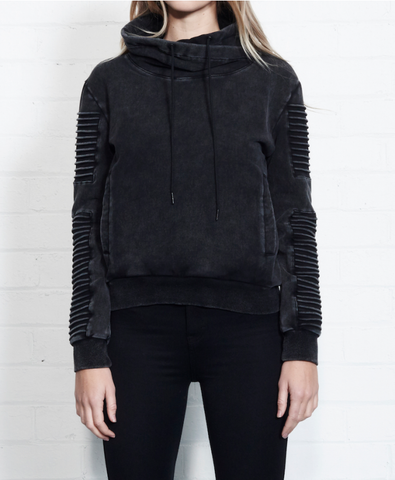 Nana Judy Adeline Sweat Acid Black NW5050