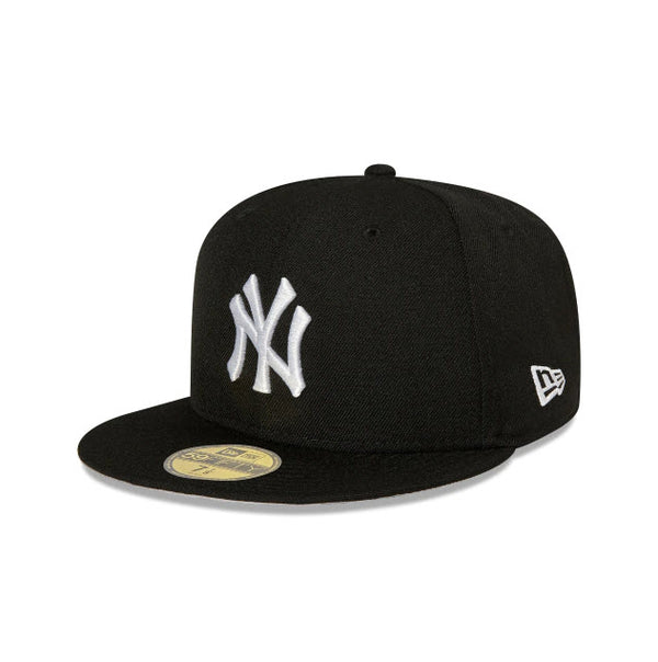 New Era New York Yankees Black 59FIFTY Fitted Cap 70046389 Famous Rock Shop Newcastle, 2300 NSW. Australia. 1