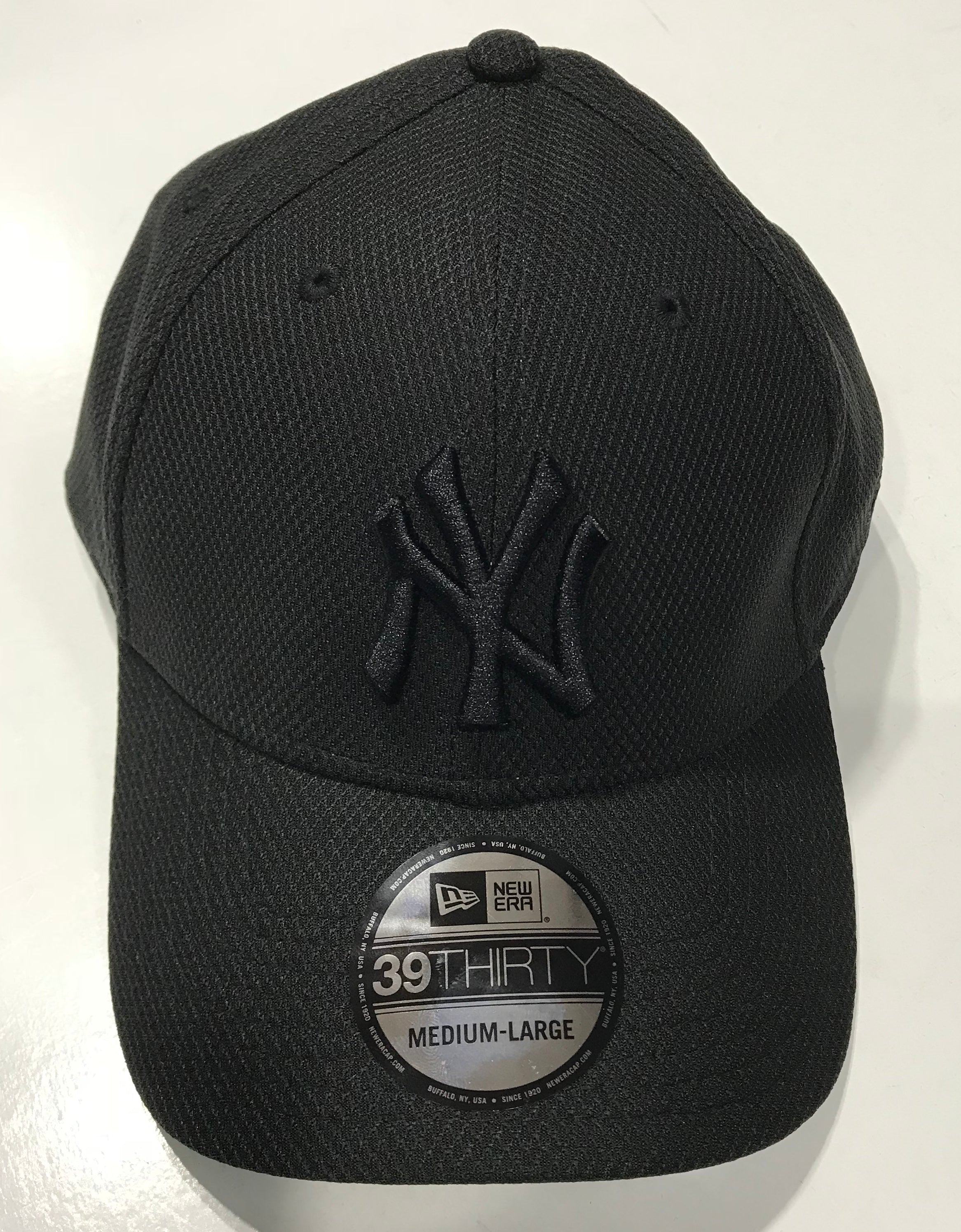 b98aa888a67 New Era 3930 New York Yankees Bob Fitted Cap Black 70428874. Famous Rock  Shop Newcastle
