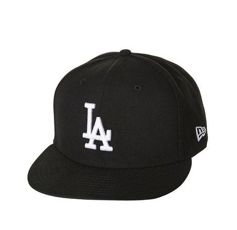 New Era 9Fifty MLB Los Angeles Dodgers Black/White Snapback