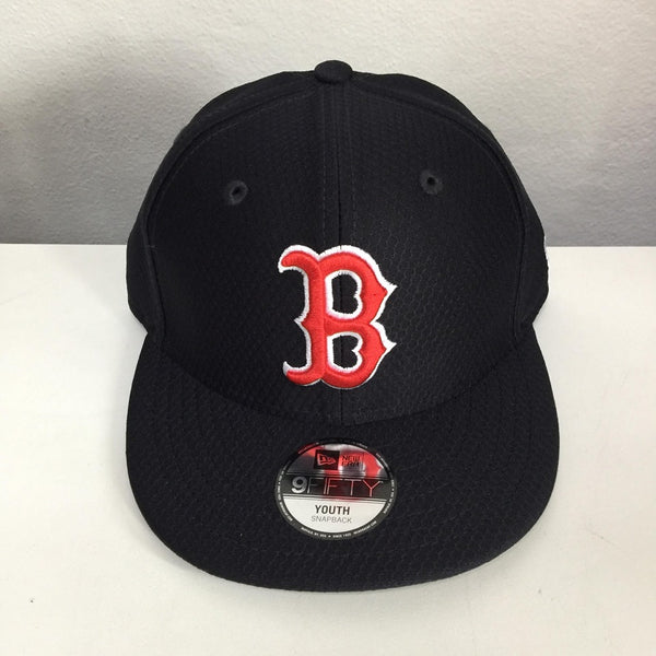 New Era 9Fifty 12157806 Youth Adjustable Snapback Boston Red Sox Navy KID950 BOSRED