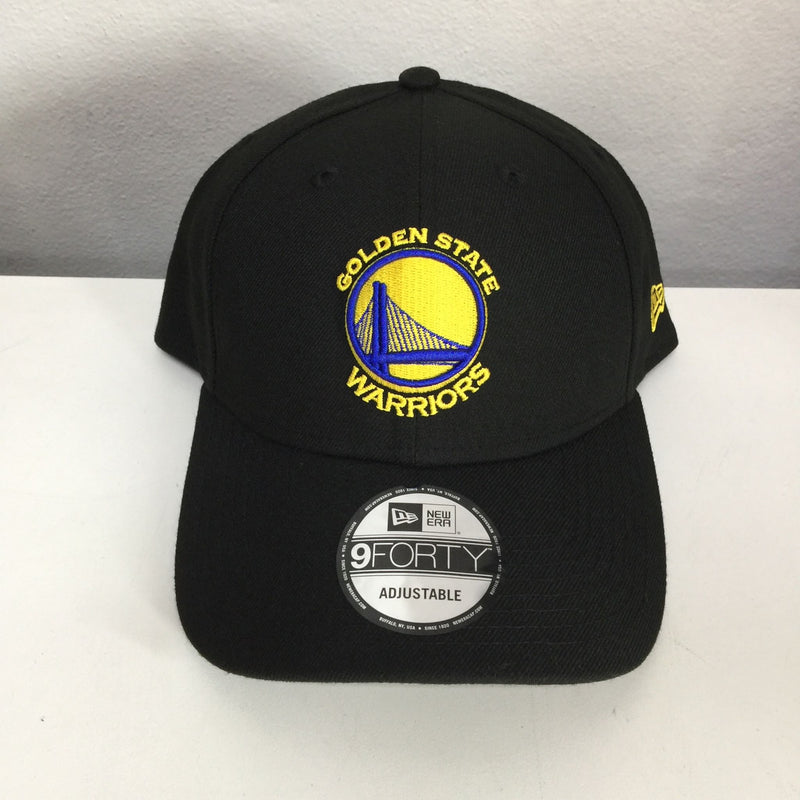 New Era 9Forty 70345386 Adjustable Snapback Golden State Warriors Black 940SNAP GOLWAR BLK OSFA