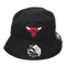 New Era Bucket Cap Chicago Bulls Black 12157815 Famous Rock Shop Newcastle 2300 NSW Australia
