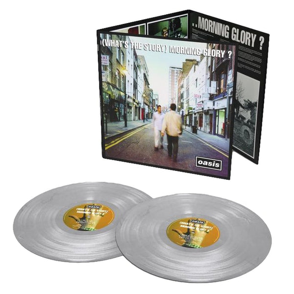Oasis Whats The Story Morning Glory? 25 Anniversary Vinyl 2LP SILVER Famousrockshop