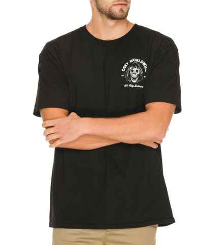 Obey All City Delivery T-Shirt Black