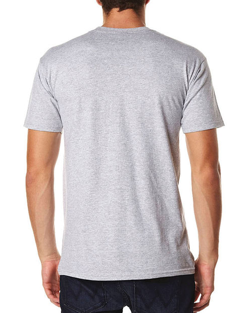 Obey Font T-Shirt Grey Heather