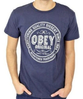 Obey Strictly Top Quality Mood Indigo T-Shirt