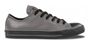 Converse All Star Chuck Taylor Charcoal Leather Ox 132099C Famous Rock Shop 2300 NSW Australia