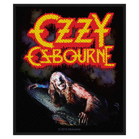 Ozzy Osbourne Bark At The Moon Patch Famous Rock Shop Newcastle NSW Australia