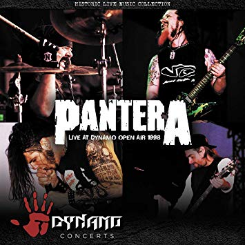 Pantera CD Live At Dynamo Open Air 1998 CD Famous Rock Shop 517 Hunter Street Newcastle 2300 NSW Australia