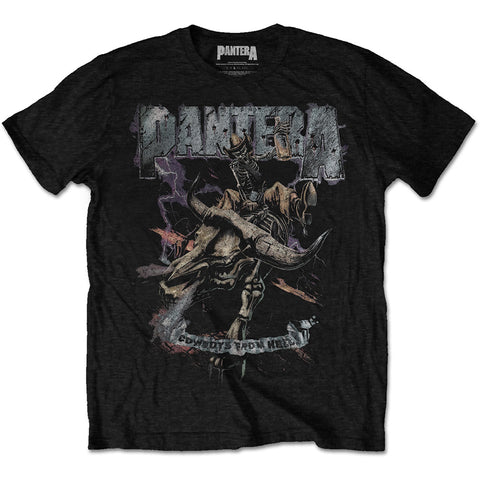 Pantera Men's Tee Vintage Rider Cowboys From Hell Colour Black PANTS11MB Pantera Men's Black Tee Vintage Rider Cowboys From Hell Famous Rock Shop Newcastle 2300 NSW Australia