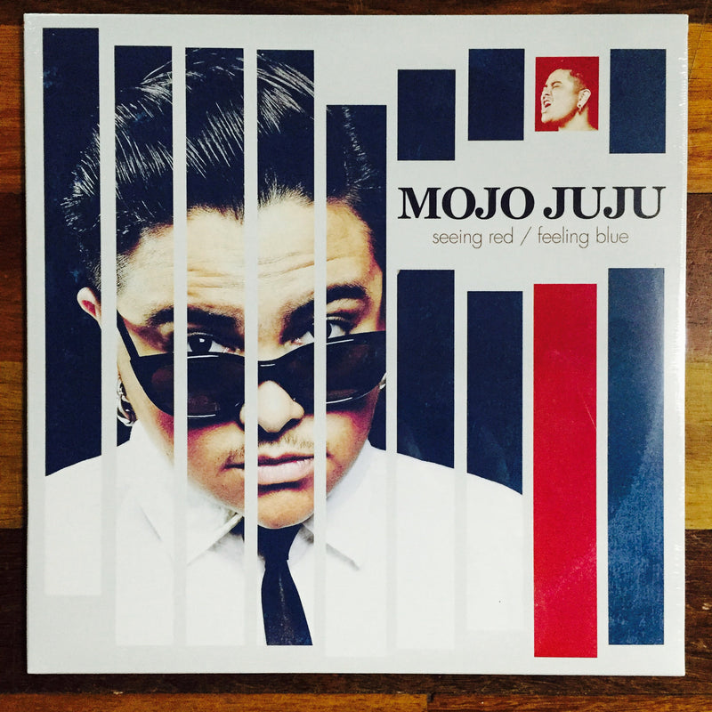Mojo Juju  'Seeing Red  Feeling Blue' Vinyl Famous Rock Shop 517 Hunter Street Newcastle 2300 NSW Australia