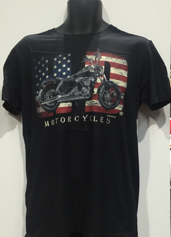 Harley Davidson 'Fat Boy' T-Shirt Famous Rock Shop Newcastle 2300 NSW Australia