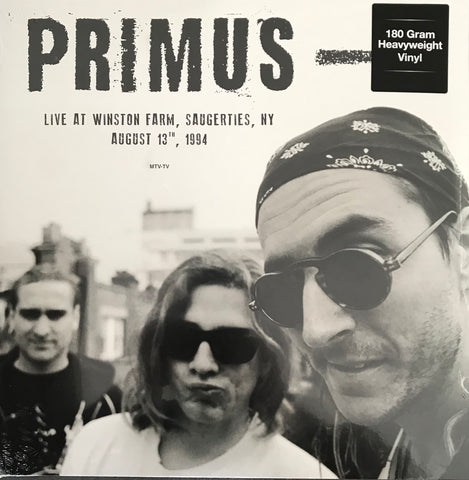Primus Live At Winston Farm Saugerties NY August 13 TH 1994 Vinyl LP DOR2143H Famous Rock Shop Newcastle 2300 NSW Australia