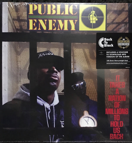 PUBLIC ENEMY It Takes A Nation Of Millions To Hold Us Back (Vinyl) FAMOUS ROCK SHOP NEWCASTLE 2300 NSW AUSTRLIA