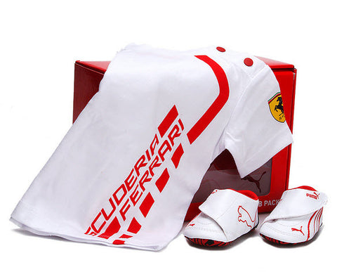Puma Crib pack Ferrari 2 White/Red 354560 01
