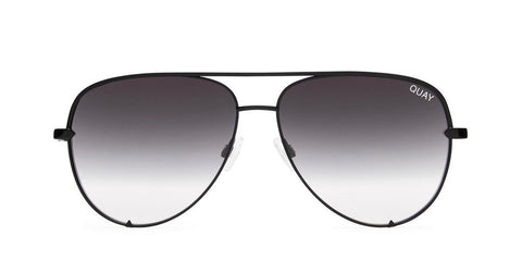 Quay Australia High Key Black Fade Sunglasses Mirror QUAY x DESI PERKINS