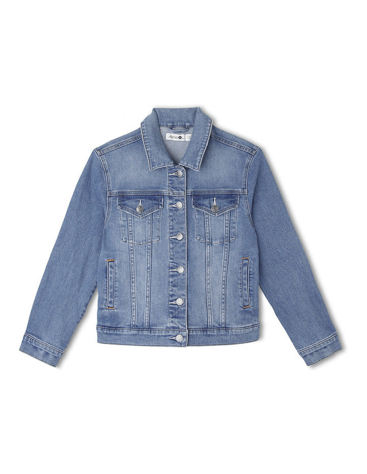 Riders By Lee Junior Classic Denim Jacket Reputation Blue R/530044/EH1