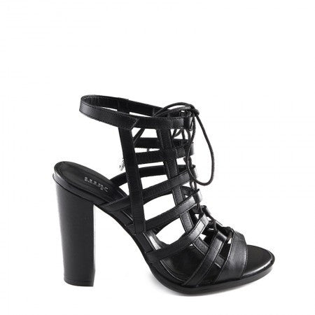 RMK Nirvana Black Leather Heels