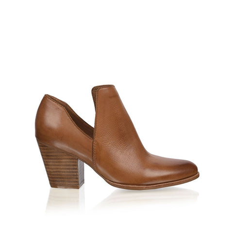 RMK Whimsical Cognac Leather Boot