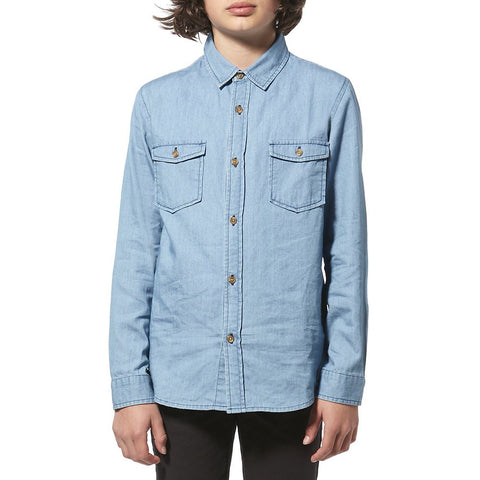 Riders By Lee Junior Denim Shirt Light Chambray