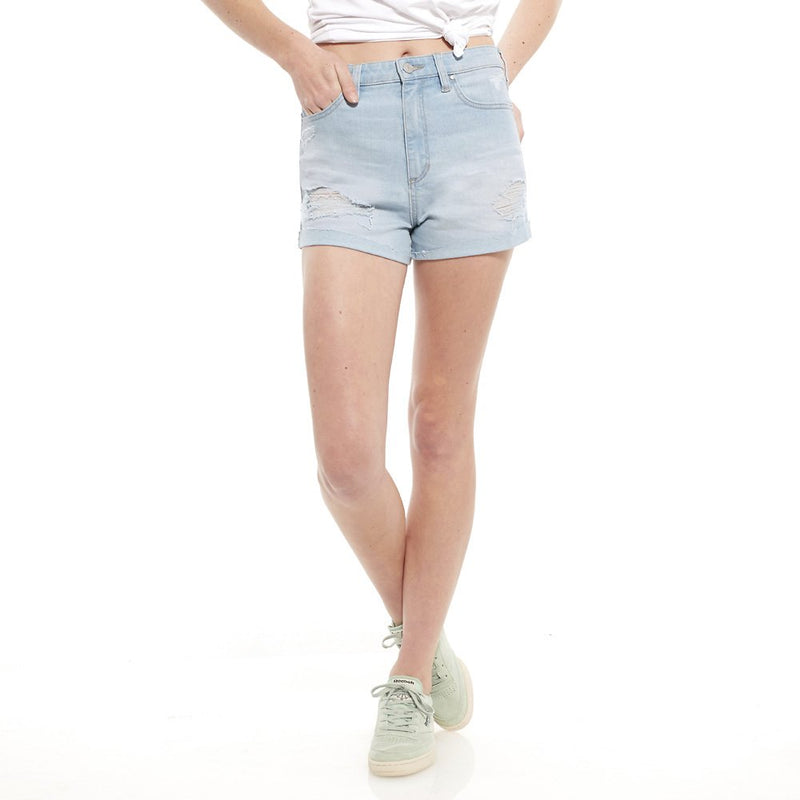 Riders By Lee Hi Mom Short Island Blue R551263CR7