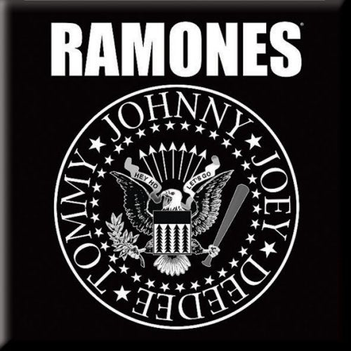 Ramones Men's Tee Presidential Seal Colour Black Famous Rock Shop Newcastle 2300 NSW Australia