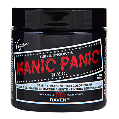 Manic Panic Semi-Perm Hair Color - Raven