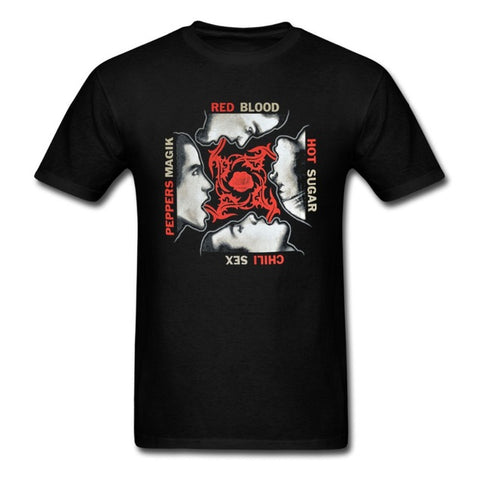 Red Hot Chili Peppers Men's T-shirt Blood Sugar Sex Magik Colour Black Famous Rock Shop Newcastle 2300 NSW Australia