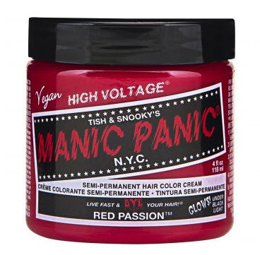 Manic Panic Semi-Perm Hair Color - Red Passion
